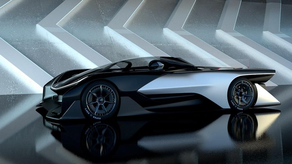 El coche eléctrico de Faraday Future, con la mejor batería del mundo