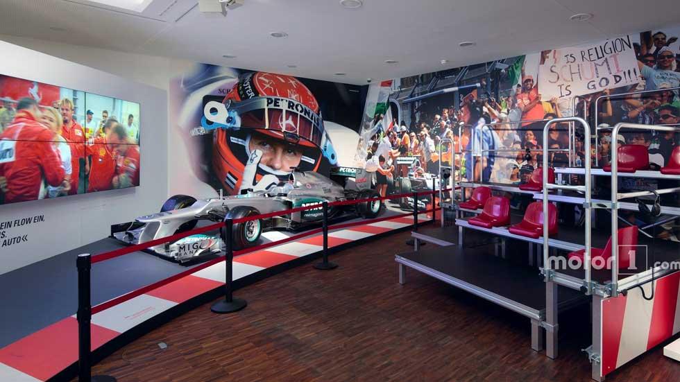 Una exposición permanente rendirá tributo a Michael Schumacher