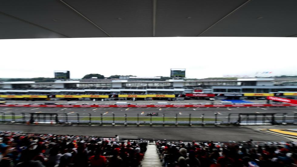 Gran Premio de Japón: Cambios en la parrilla de salida