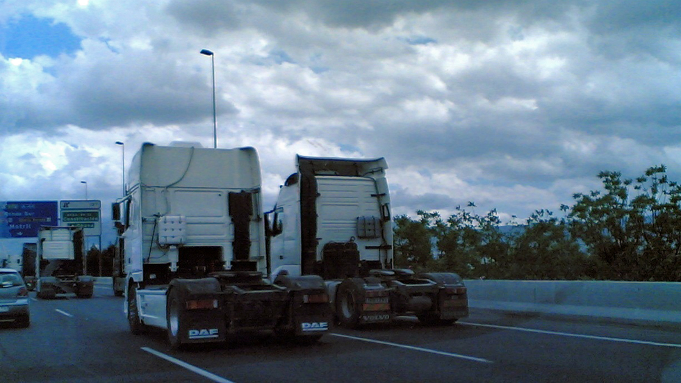 La DGT hará inspecciones a camiones, furgonetas y autobuses