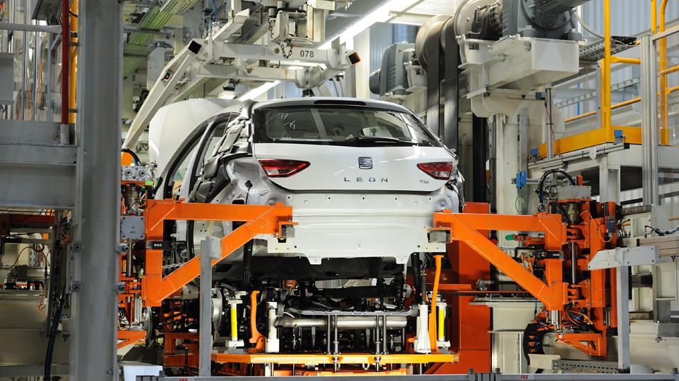 La fabricación de coches, récord en España
