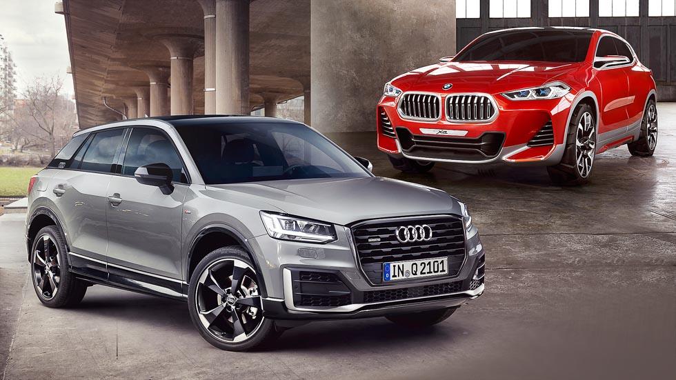 Duelo de futuros y nuevos SUV: Audi Q2 y BMW X2