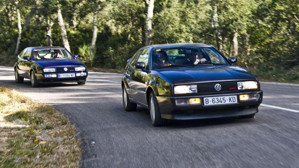Volkswagen Corrado: a prueba tres de sus últimos motores