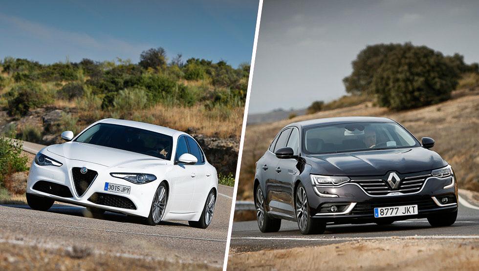 Alfa Romeo Giulia vs Renault Talisman, ¿cuál es mejor?