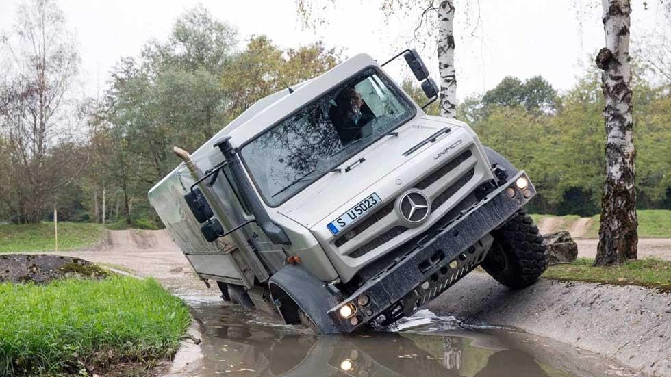 El Mercedes Unimog celebra su 70 aniversario