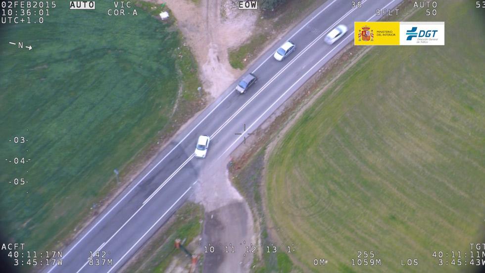 Control de la DGT en carreteras convencionales: ¡casi 30.000 conductores multados!