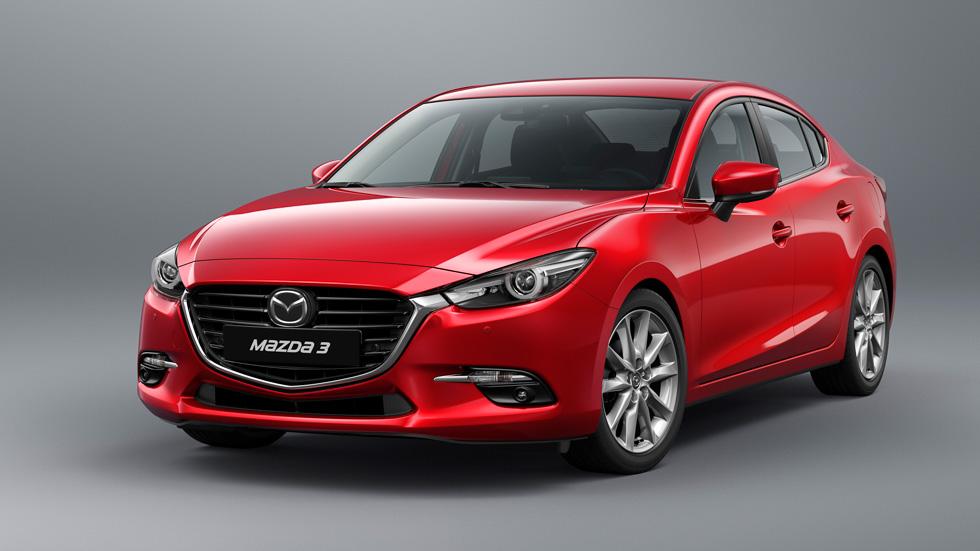 Mazda3 2017, con cambios en el exterior y en el interior