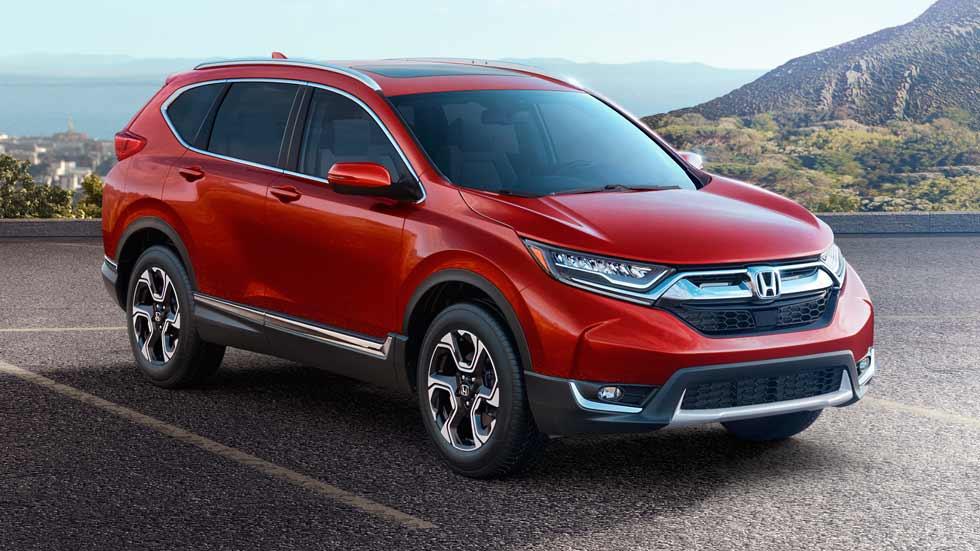 Así es el Honda CR-V 2017: fotos y datos oficiales