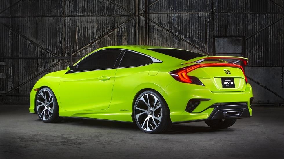 Honda Civic Si, deportividad por debajo del Type R Concept