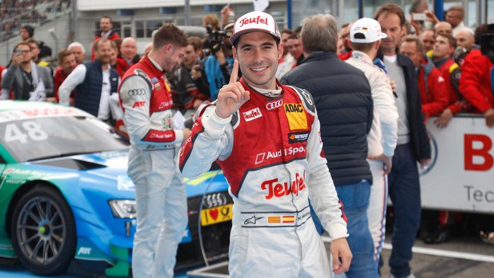 DTM Finale: gran victoria de Miguel Molina en Hockenheim