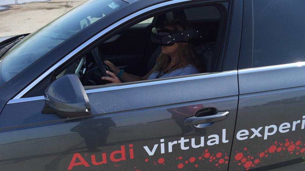Así conducimos con las gafas de realidad virtual de Audi (vídeo)