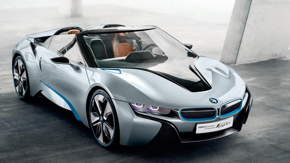 BMW i8 Roadster, a la venta en 2018