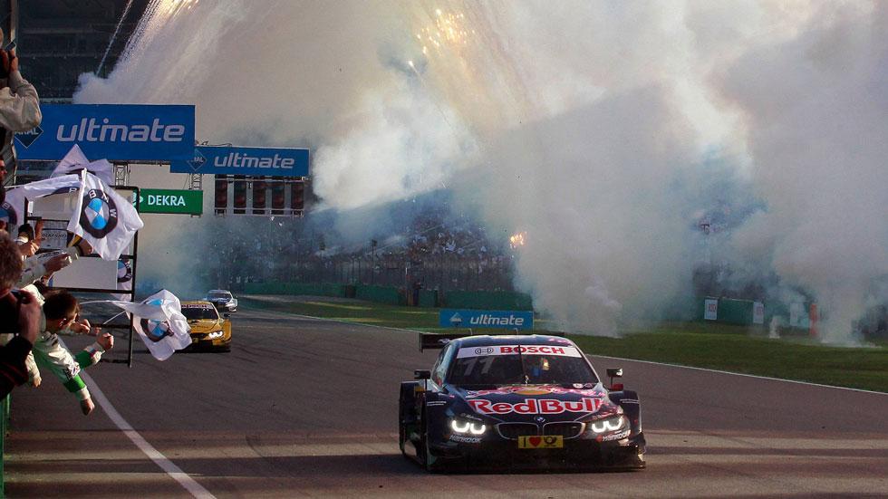 Automovilismo: Ekström, campeón de Rallycross, y Wittmann, del DTM