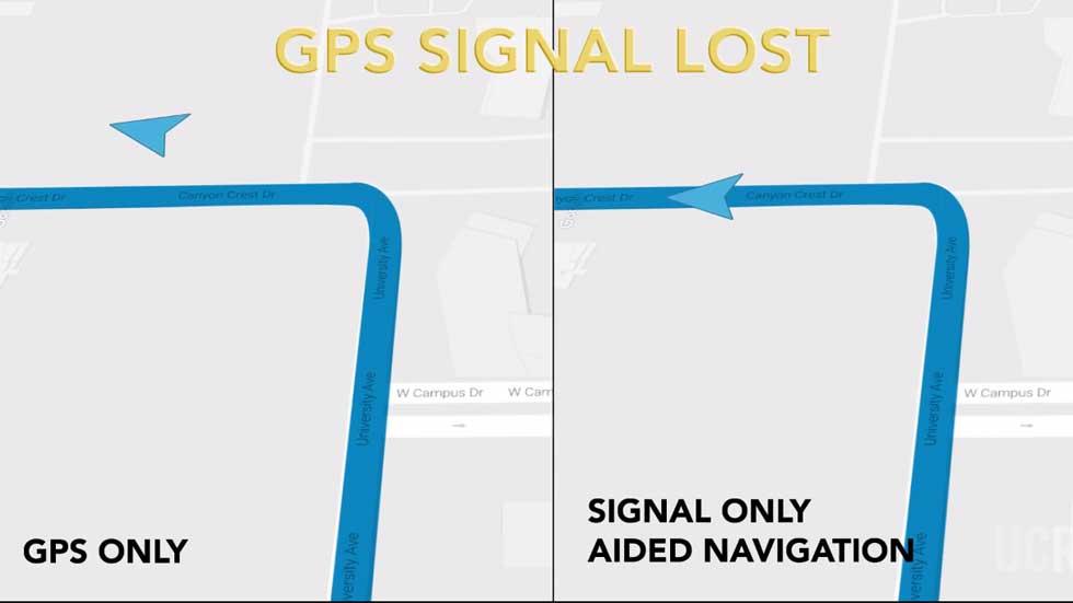 La navegación del coche autónomo no será por GPS