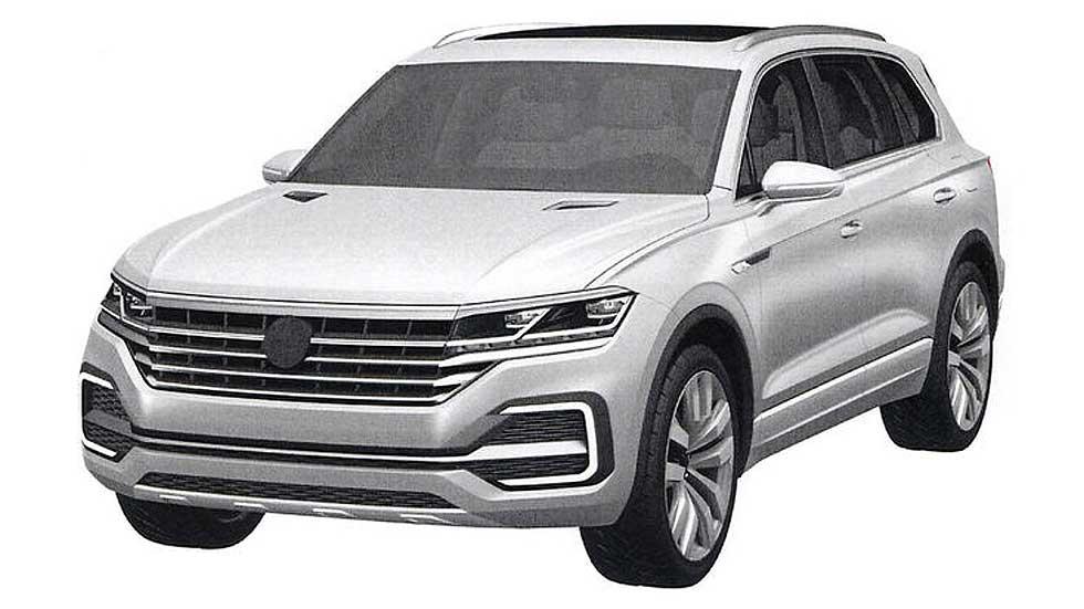 Volkswagen Touareg de tercera generación, a la venta en 2017