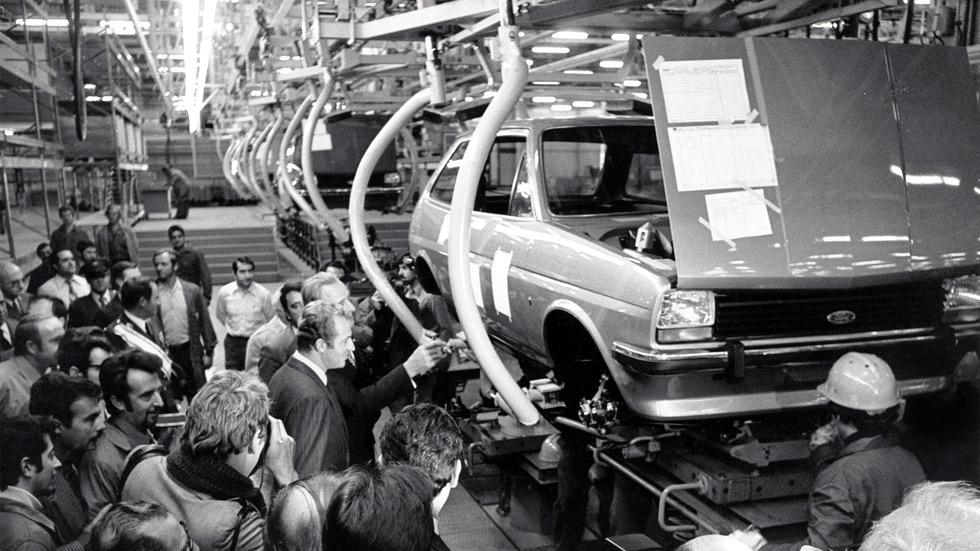 40 años de la fábrica de Almussafes de Ford (datos y fotos)