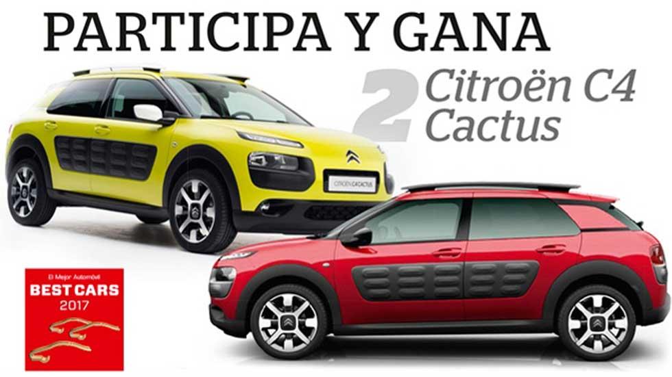 ¡Último día! Participa en Best Cars 2017: sorteamos 2 Citroën C4 Cactus