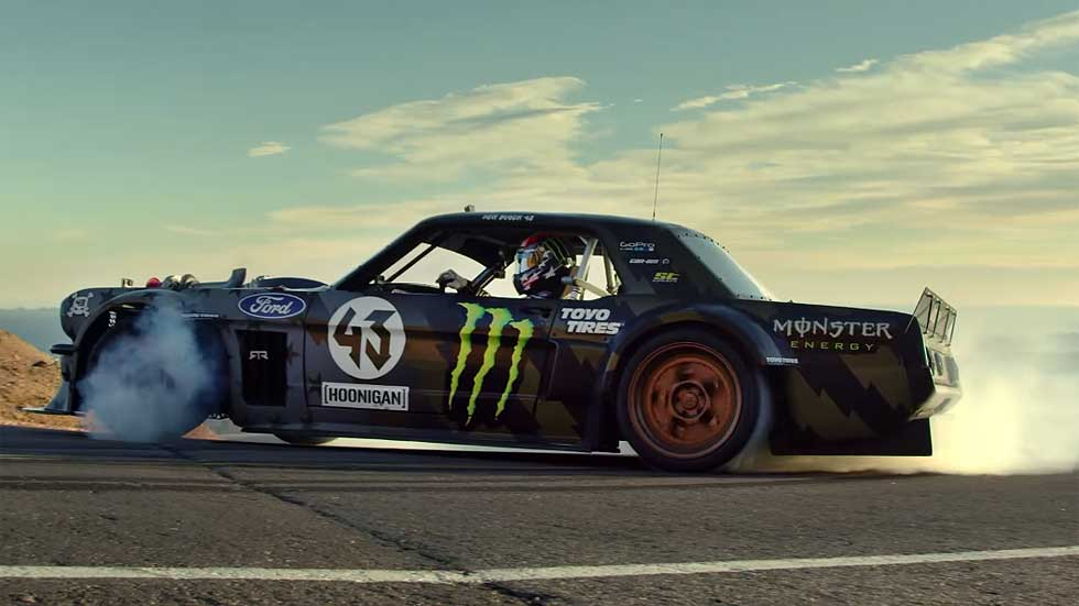 Ken Block: el trailer de la Climbkhana en Pikes Peak (video)