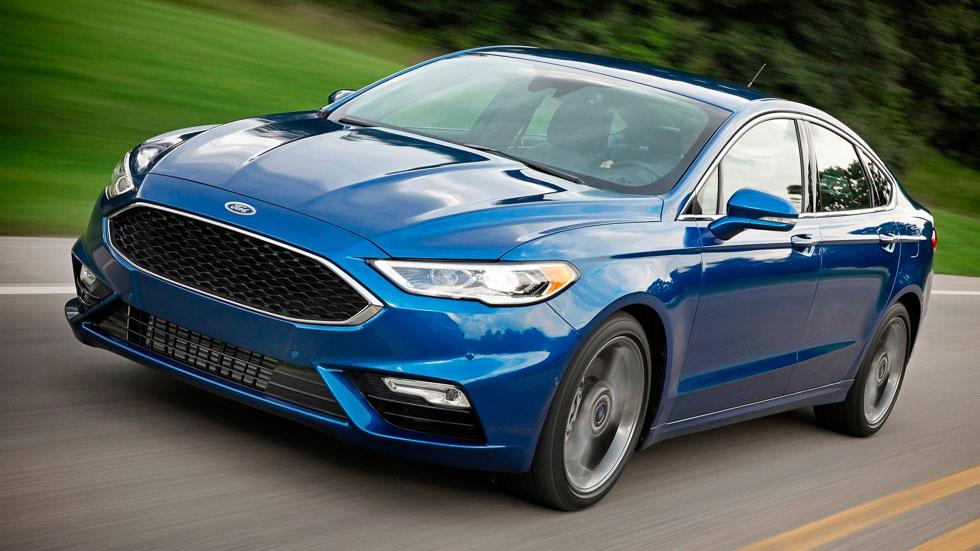 Ford Fusion 2017: el Mondeo americano, con tracción total y motor V6 biturbo