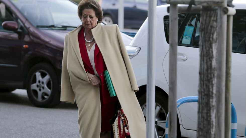 Nadie quiere los coches de Rita Barberá: la subasta, desierta