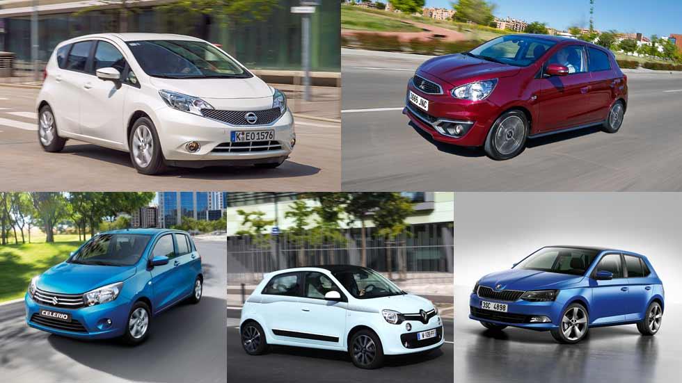 Los coches pequeños con mejor espacio interior del mercado