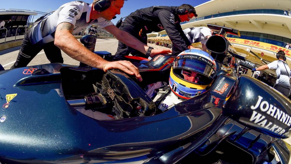 Gran Premio de USA: Alonso se calificó duodécimo