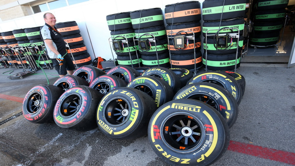 Gran Premio de USA: Los neumáticos para la carrera