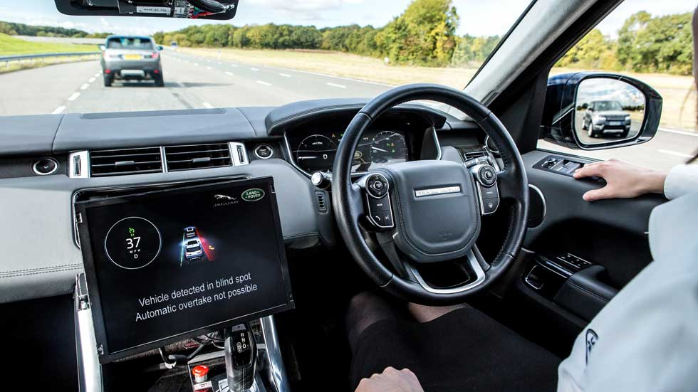 Land Rover y su apuesta por las tecnologías para el coche conectado