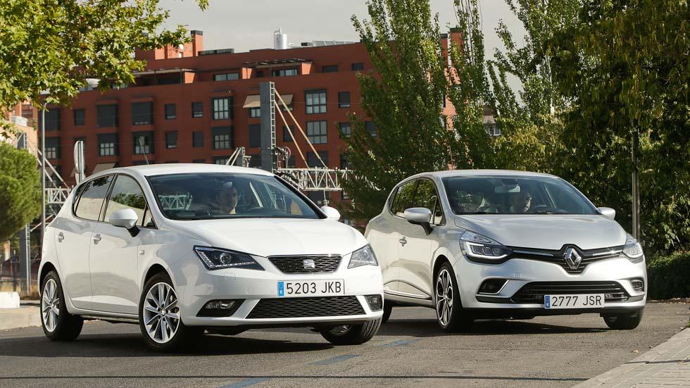 Renault Clio Energy TCe 90 y Seat Ibiza 1.0 TSI 95: ¿cuál es mejor?