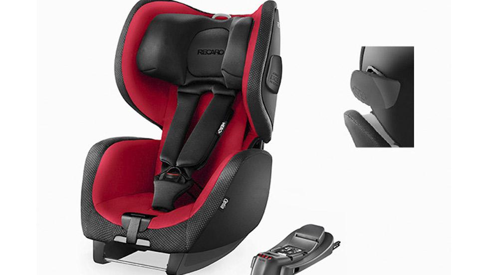 Las cinco sillas de coche para ni os que suspenden en for Silla de seguridad coche