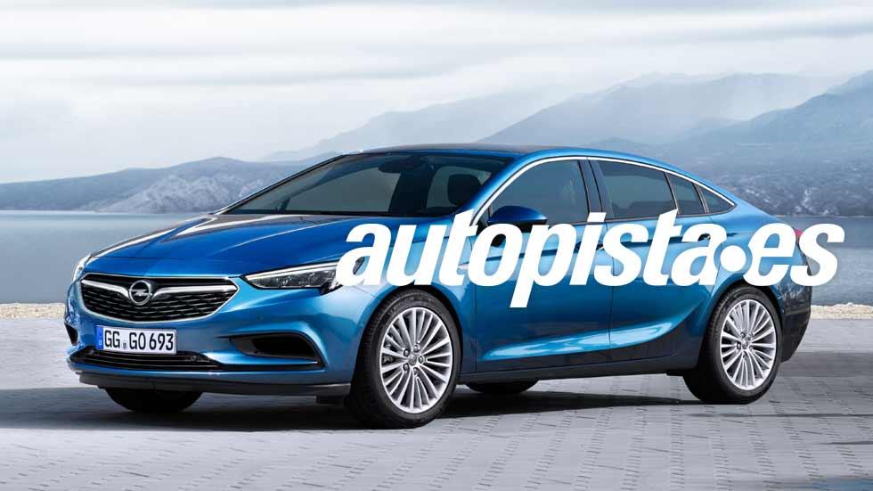 Opel Insignia Grand Sport 2017: a prueba la nueva berlina alemana
