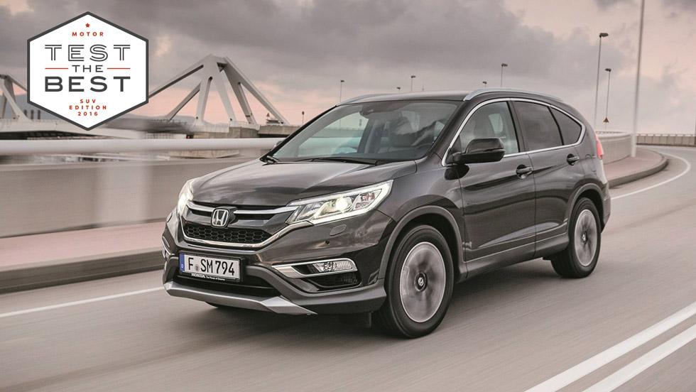 Así es la gama SUV de Honda: HR-V y CR-V
