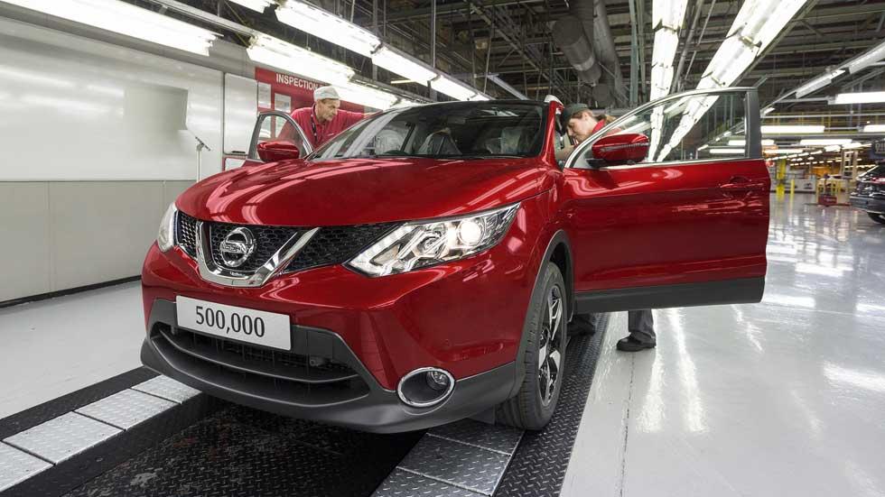 Nissan producirá los Qashqai y X-Trail en Reino Unido, a pesar del Brexit