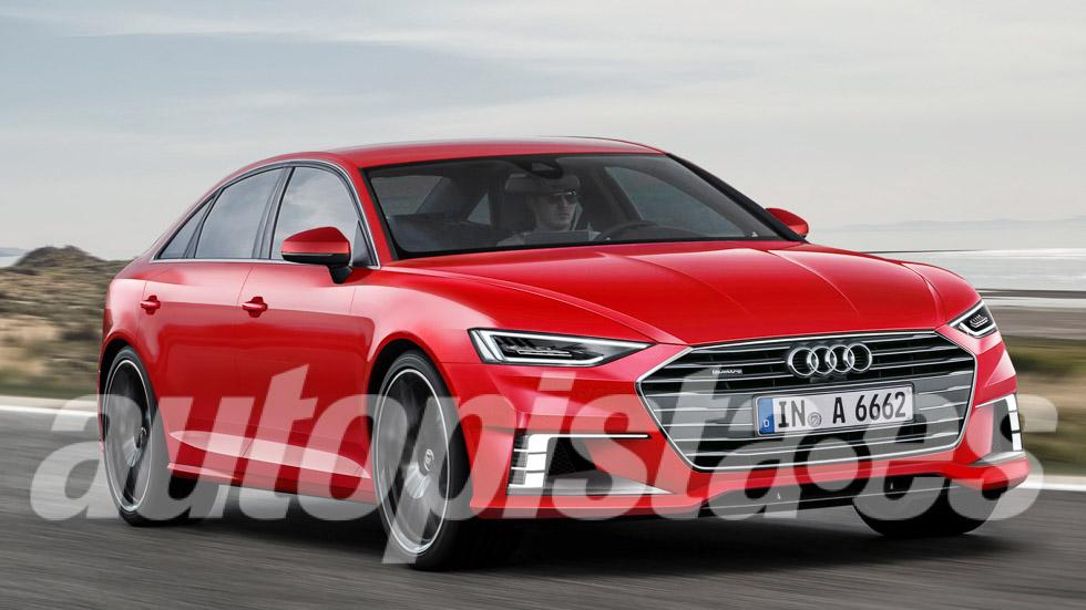 Audi A6 2018: su nueva generación, a punto
