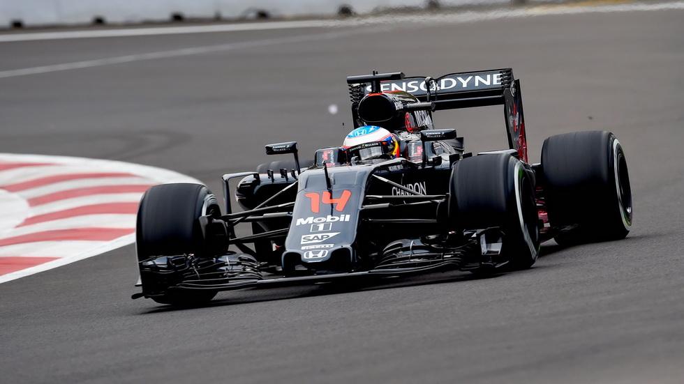 Gran Premio de México: Alonso entre los diez primeros