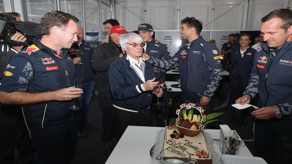 Gran Premio de México: Cumpleaños de Bernie Ecclestone