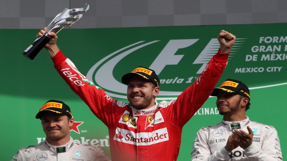 Gran Premio de México: Vettel, apeado del podio tras la carrera