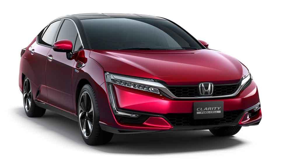 El Honda Clarity Fuel Cell de hidrógeno, con casi 600 km de autonomía
