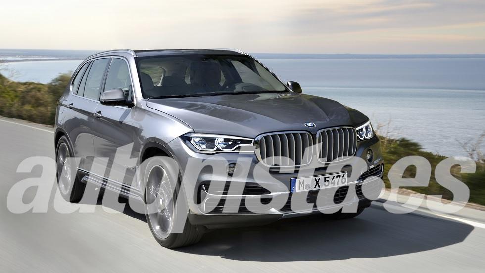 Nuevo BMW X5 2017... y sus futuros rivales SUV