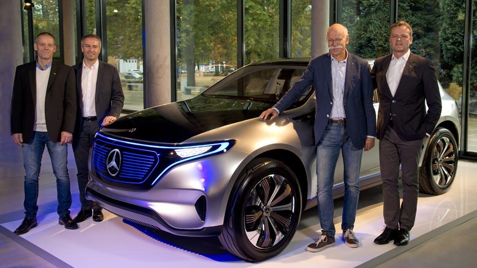 El futuro de Mercedes: muchos coches eléctricos, de hidrógeno, autónomos...