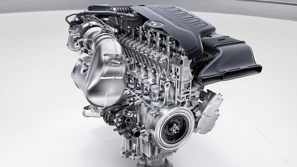 Los nuevos motores de Mercedes: ¡vuelve al 6 en línea!