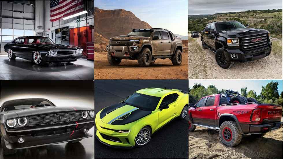 Los nuevos prototipos americanos más espectaculares: ¡brutales!