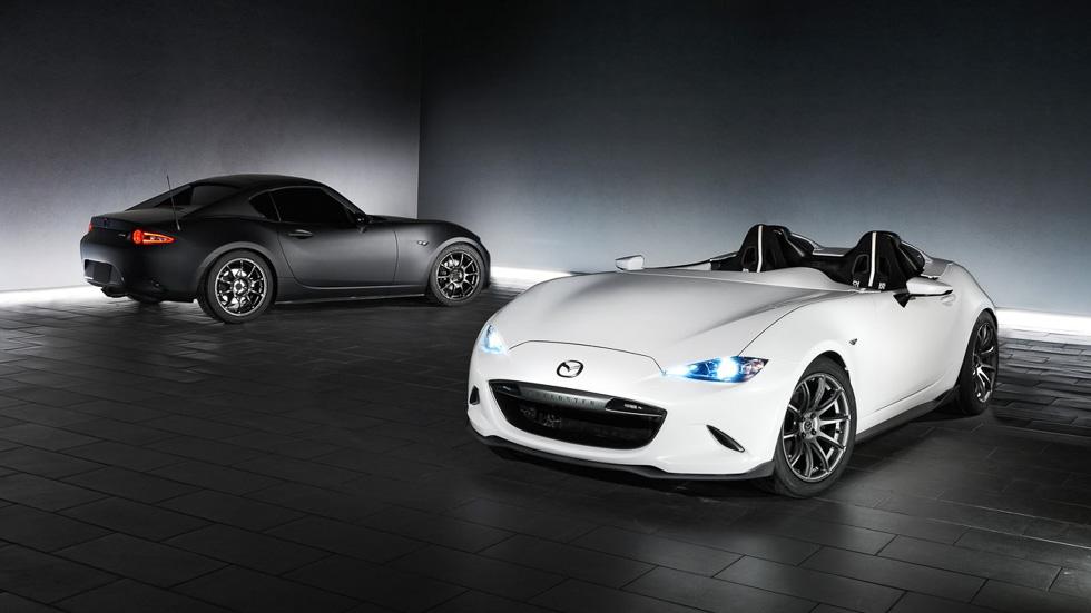 Mazda MX-5 Speedster Evolution: el coche más ligero del SEMA