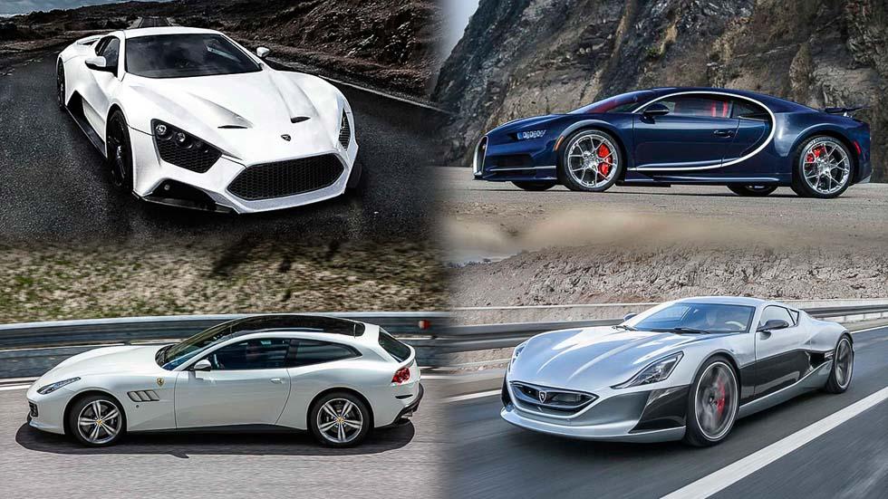 Los 10 coches más rápidos del año
