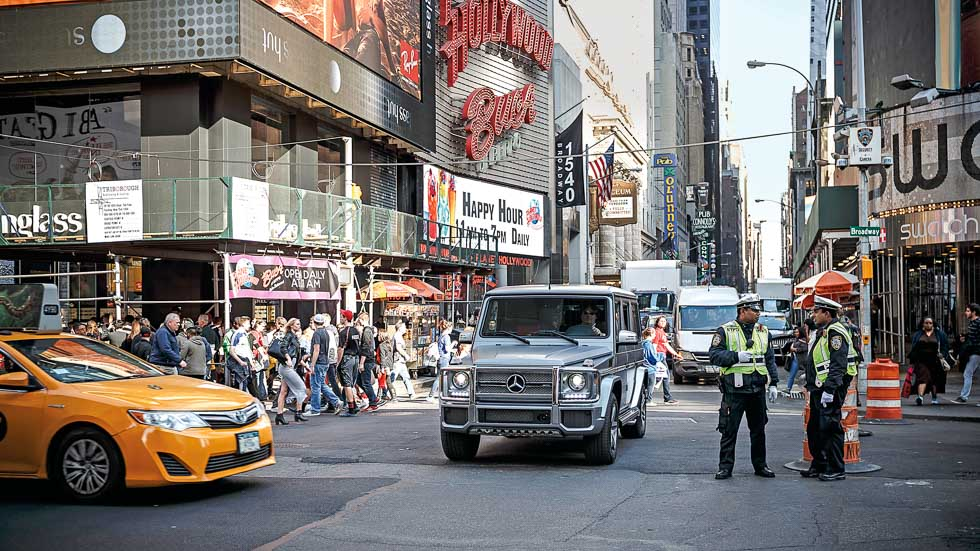 ¿Qué hacemos probando un Mercedes-AMG G65 por Nueva York?