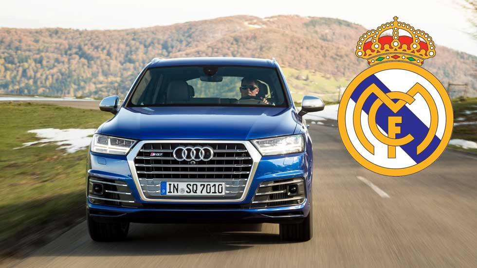 Los coches de los jugadores del Real Madrid en 2016