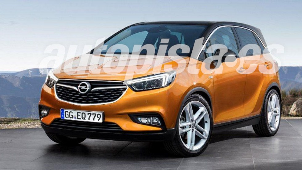 opel crossland x el nuevo suv sustituto del meriva. Black Bedroom Furniture Sets. Home Design Ideas