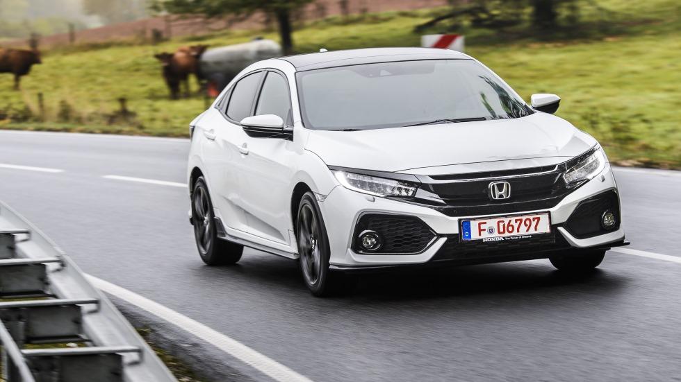 Probamos el Honda Civic 2017: más grande, ágil y tecnológico
