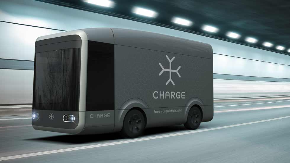 El camión de reparto del futuro será eléctrico y autónomo