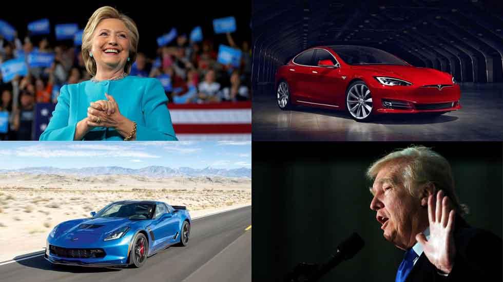 Elecciones en EE.UU.: ¿qué coches se asocian a los candidatos?